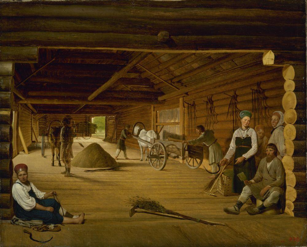 «Гумно», 1822-1823.
