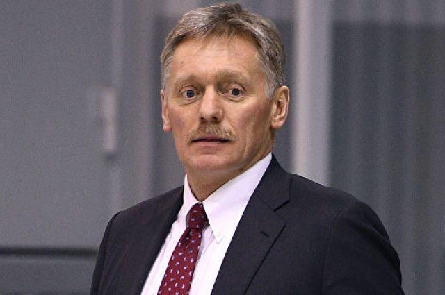 Песков прокомментировал атаки на Донбассе