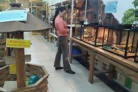 Контактные зоопарки продолжают работать в торговых центрах города.