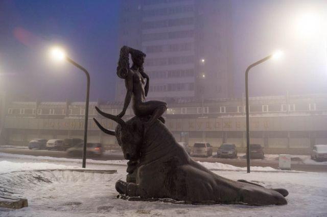 Сегодня воздух в Красноярске чище, чем накануне.