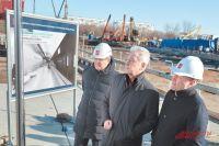 Мэр Москвы Сергей Собянин во время осмотра «Кленового бульвара».