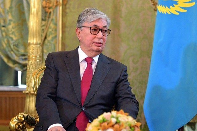 Касым-Жомарт Токаев.