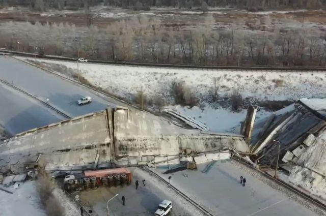 В Оренбуржье инициировано второе уголовное дело по факту обрушения моста.