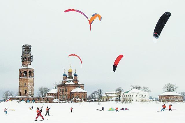 В XI чемпионате Пермского края по сноукайтингу, который прошёл в Усолье,  участвовали 27 спортсменов.