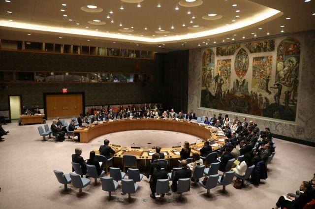 Совет безопасности ООН: пять стран поддержали Украину
