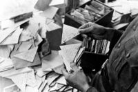 Некоторые письма приходили адресатам, когда авторов уже не было в живых