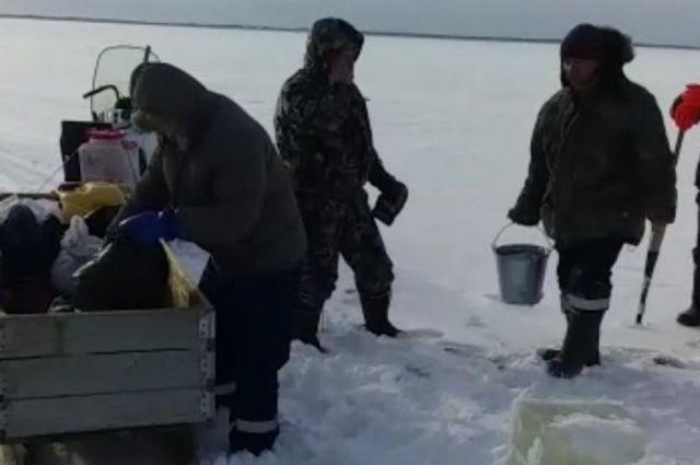 Карасей из Андреевского озера проверят на гаффскую болезнь