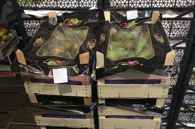 130 кг санкционных груш изъяли на одном из оренбургских рынков