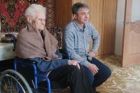 Александра Ильинична с Рамизом живут теперь в Архонке.