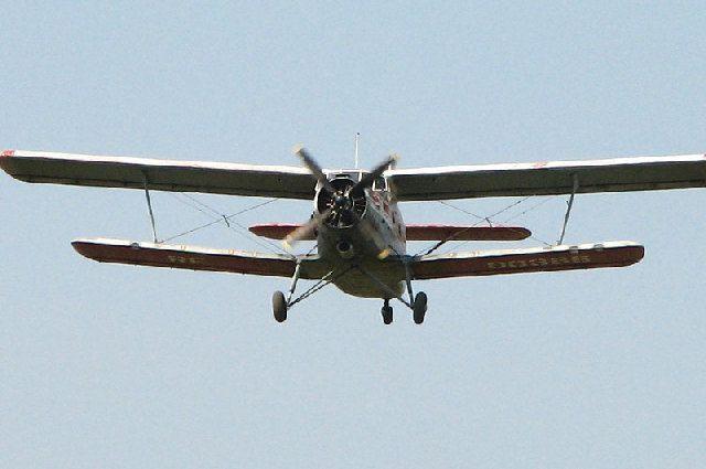 В Магадане при взлете упал самолет