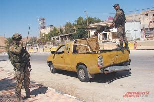 Появилось видео инцидента с бронемашинами РФ и США в Сирии