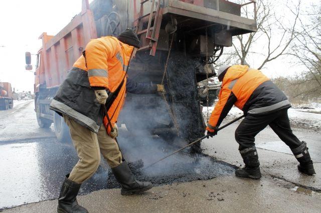 В Орске подрядчик не успел отремонтировать дороги к поставленному сроку