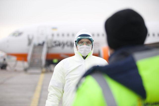 Эвакуированных из Китая граждан разместят в Полтавской области