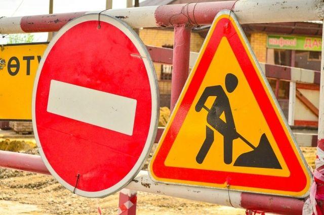 В Оренбурге из-за ям на мосту через Урал образуются огромные пробки