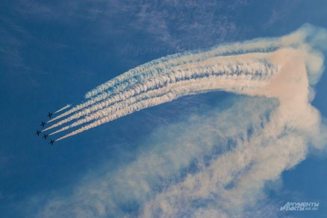 В Оренбурге в честь Дня Победы покажут авиашоу.