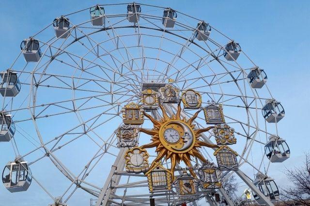 На Цветном бульваре установят новое колесо обозрения