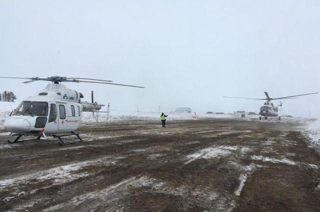 В Оренбурге доставлены пострадавшие при взрыве газа из Кваркенского района.
