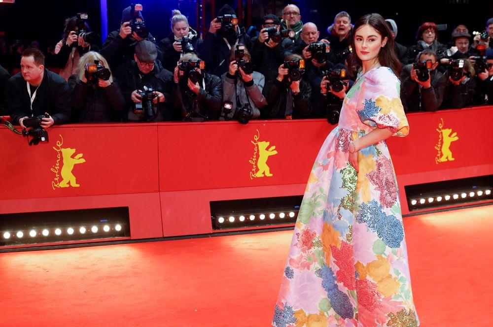 Актриса Леа ван Акен.