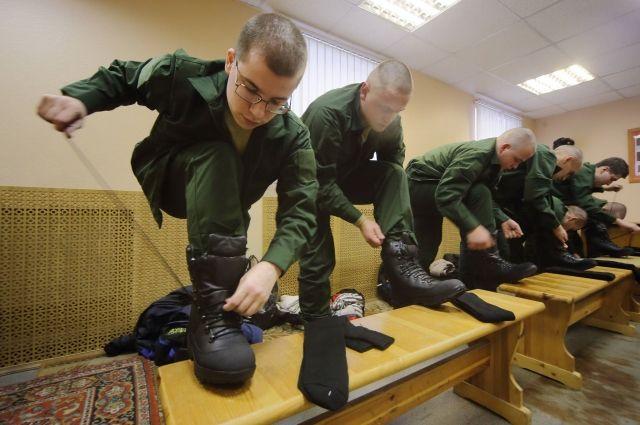 В последние годы желающих пройти срочную службу в армии стало заметно больше.