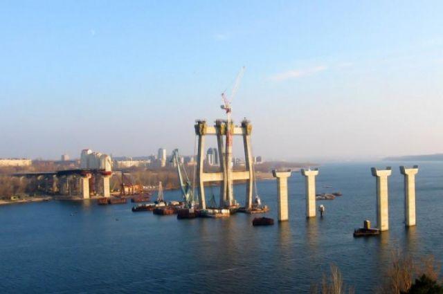 Мост в Запорожье достроит турецкая компания