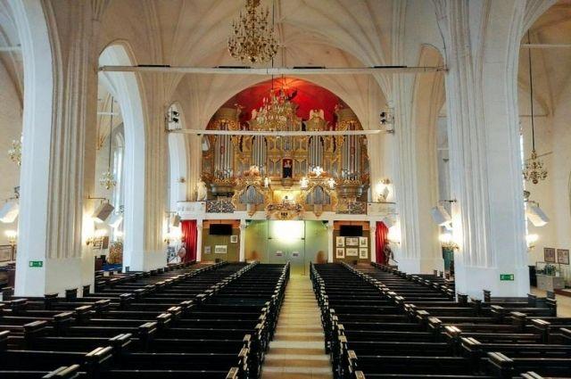 Новую акустическую систему установили в Кафедральном соборе