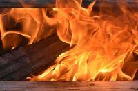 Дом на улице Новая загорелся в 1.45.