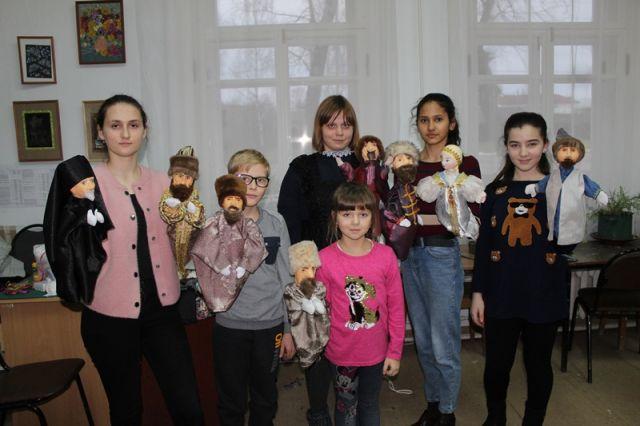 Кукольных дел мастера.