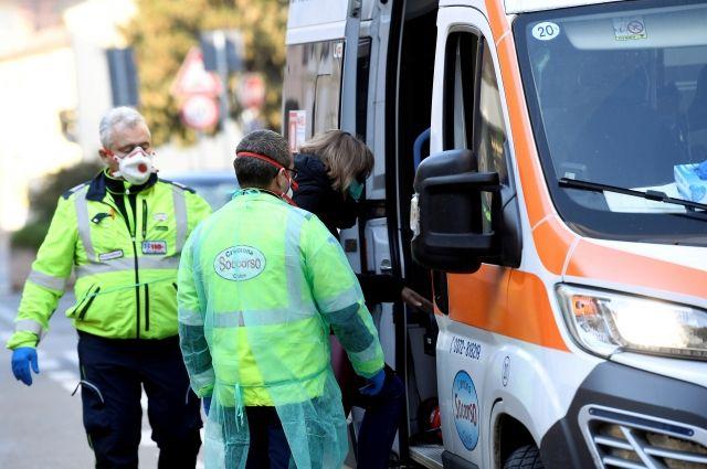 В Италии за два дня число зараженных коронавирусом выросло до 76