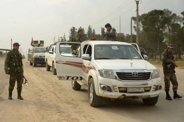 Шоссе между Дамаском и Алеппо открыто для движения транспорта