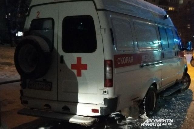 Юношу доставили в больницу.