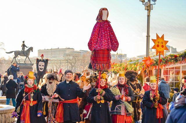 Что будет в Москве на Масленицу?