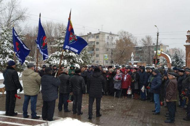 В Пролетарском округе Тулы состоялся митинг