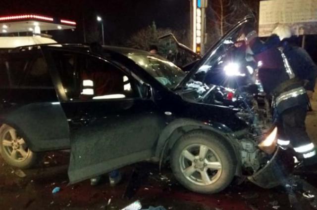 В Павлограде произошло ДТП: один человек погиб, пятеро госпитализированы