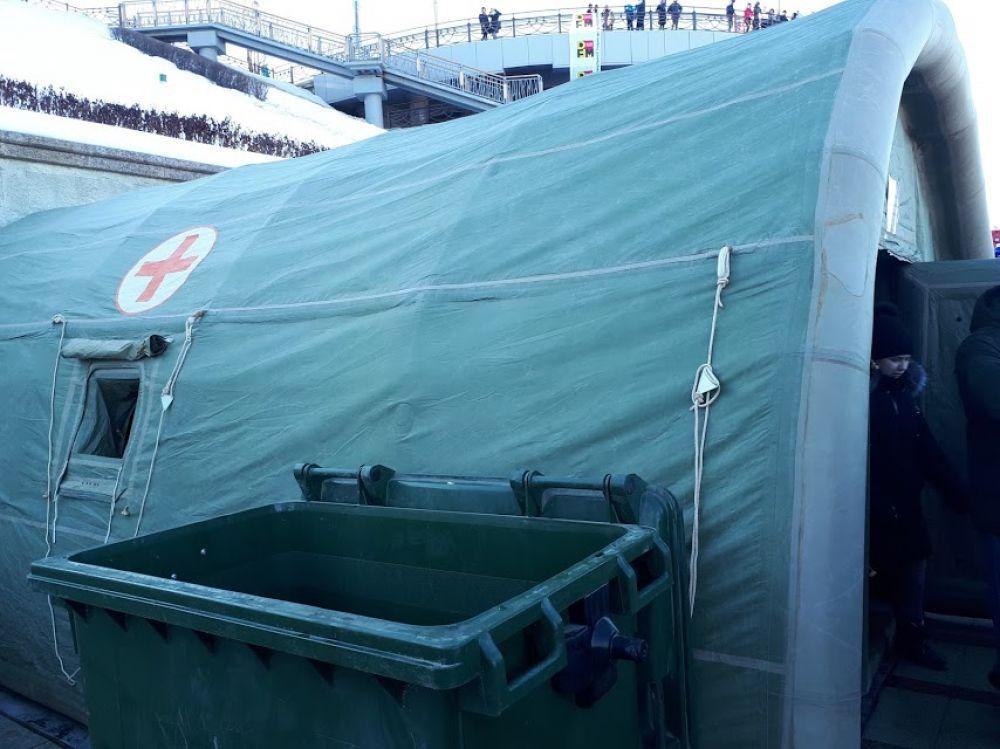 #СпецоперацияЛед, палатка центра медицины катастроф, Тюмень, 2020 | Фотогалерея.