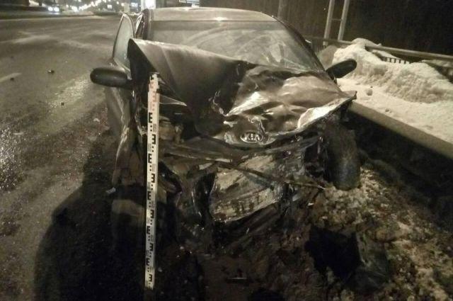 ДТП произошло в 5.30 на улице Чкалова.