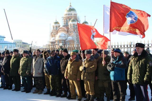 С праздником собравшихся поздравил глава города Алексей Титовский.