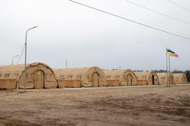 США передали ВСУ палаточный городок за 1,5 млн долларов