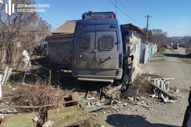 В Мариуполе произошло ДТП с участием сотрудников патрульной полиции