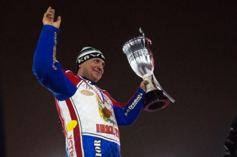 Победителем заезда памяти легендарного мотогонщика Сергея Иванова стал Максим Барабошкин.