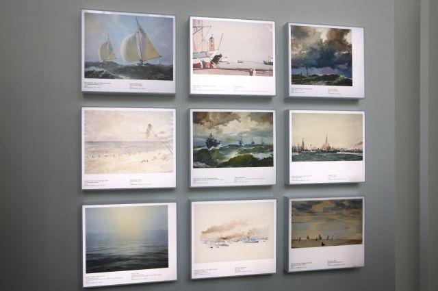 На Южном вокзале открылась выставка Государственной Третьяковской галереи