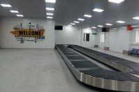 Новый павильон прилёта пассажиров международных линий.