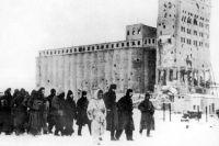 Пленение войск противника в Сталинграде.