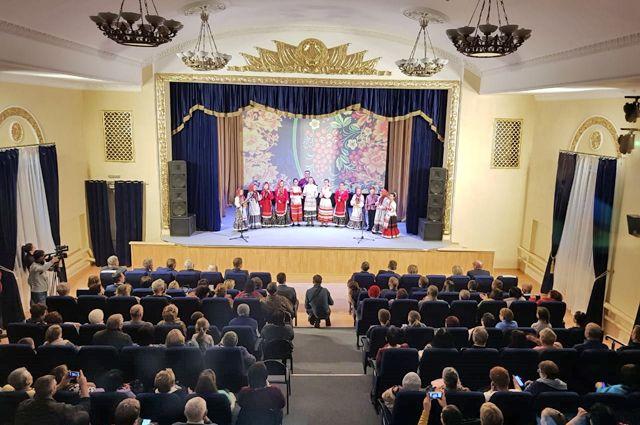 В новом кинозале Краснослободска помещается более 140 зрителей.
