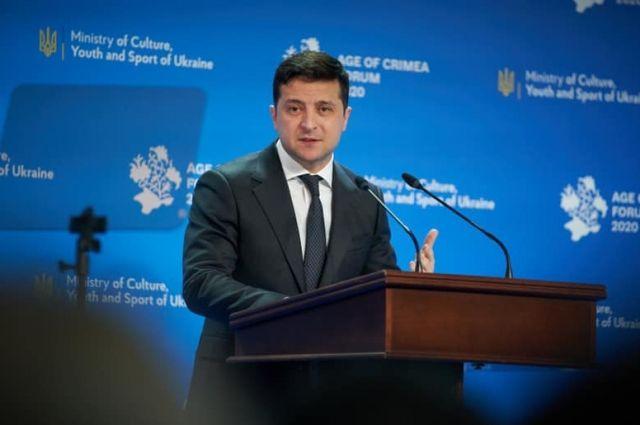 Крым не станет ценой мира на Донбассе, - Зеленский