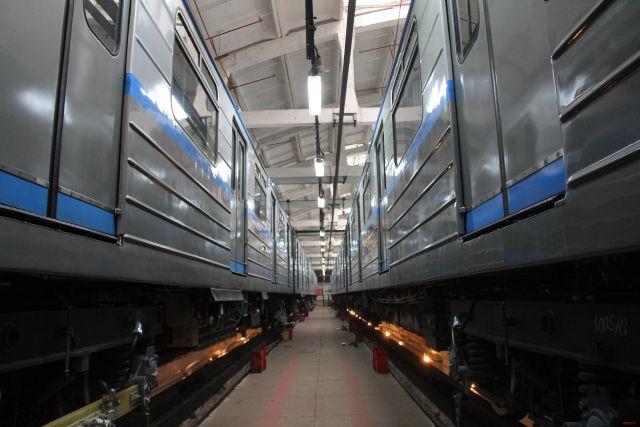 Вагоны нижегородского метро