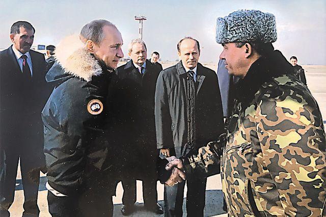 В горячие точки президент Путин летал с Гавриловым 14 раз.