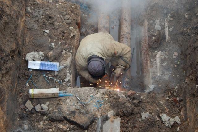 На ул. Лазурная будет проводиться аварийно-восстановительный ремонт тепломагистрали диаметром 1000 мм.