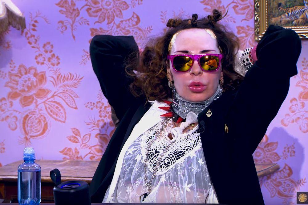 Жанна Агузарова на шоу Максима Галкина, 2020 год.