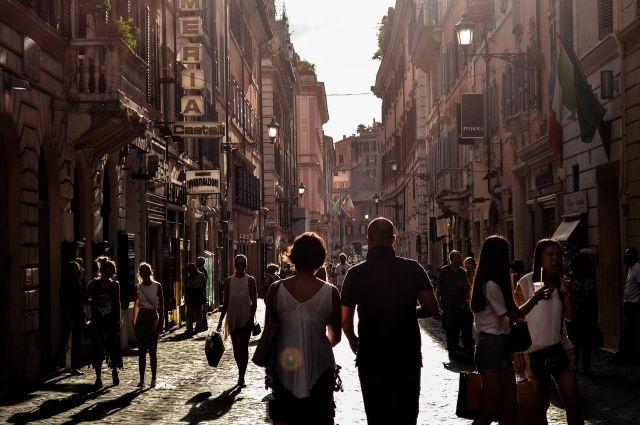 В Италии находятся около 20 тысяч российских туристов
