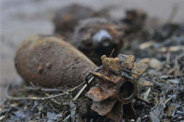 В Калининградской области обнаружены семь снарядов времён ВОВ